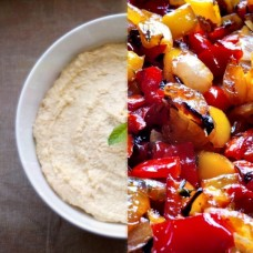 Houmous and Roasted Vegetable  (V)