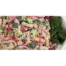 Spinach and Ham Pasta Salad